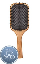 Aveda Paddle Brush... best brush ever!!  The secret to healthy shiny hair that.