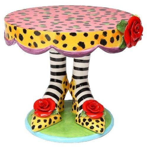 Appletree Cake Stand with High Heeled Feet - WANT WANT WANT