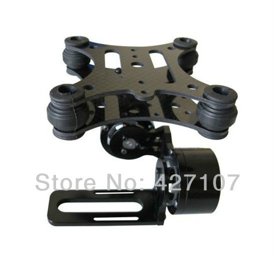 ... Camera Gimbal Mount With Motor & Controller RTF For Gopro 2 3 Fast