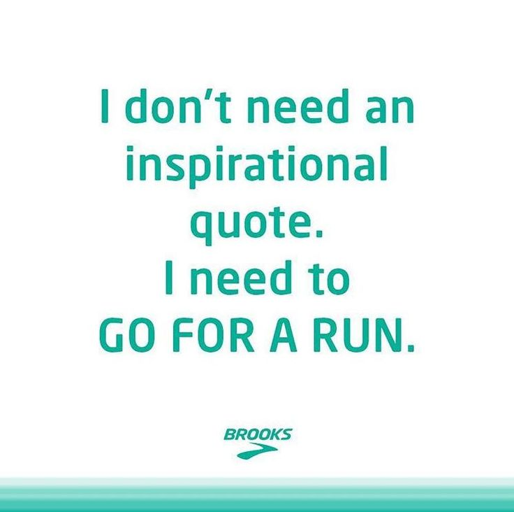 Sometimes You Just Need to Go for a Run | Follow Brooks Women on Instagram for more Running Inspiration