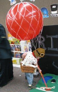 hot air balloon costume giant balloon from zurchers party supply store - Halloween Supply Store
