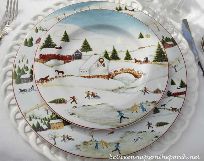 A Winter Table Setting Tablecloth by Mother Nature & 36 best DAVID CARTER BROWN COLLECTION images on Pinterest | David ...