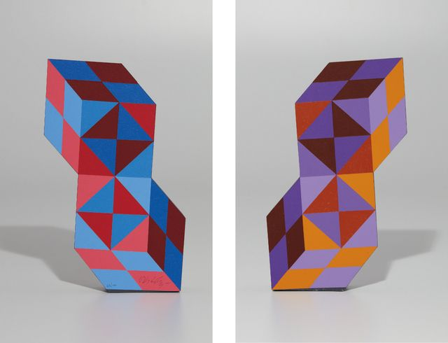 Victor Vasarely, Stèle