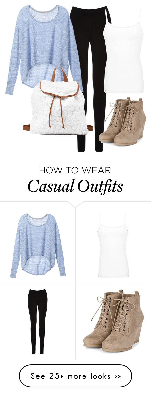 """Casual Fall day!"" by queen-elsa-of-arendelle on Polyvore featuring Oasis, Victoria's Secret, Charlotte Russe and BKE core"