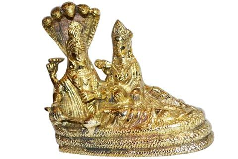 vishnu laxmi ji with sheshnag embossed
