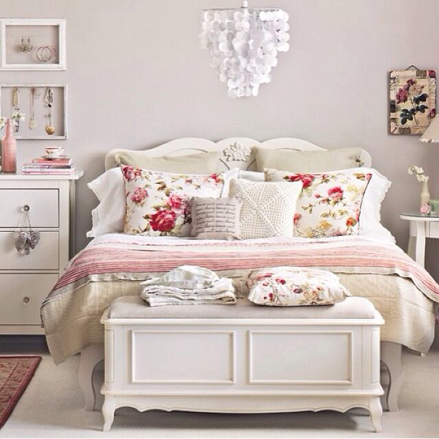 Pink And White Bedroom Room Ideas Pinterest Hot