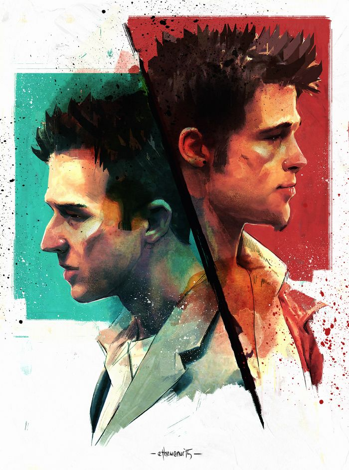 dissociation identity disorder in david finchers fight club Called dissociative identity disorder of the feminized, post-masculine men in fight club abstract: david fincher's movie fight club.