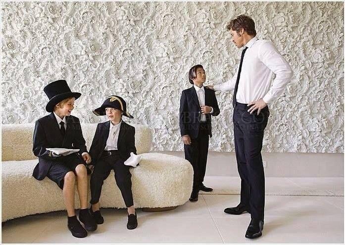 งานแต่ง Angelina Jolie & Brad Pitt