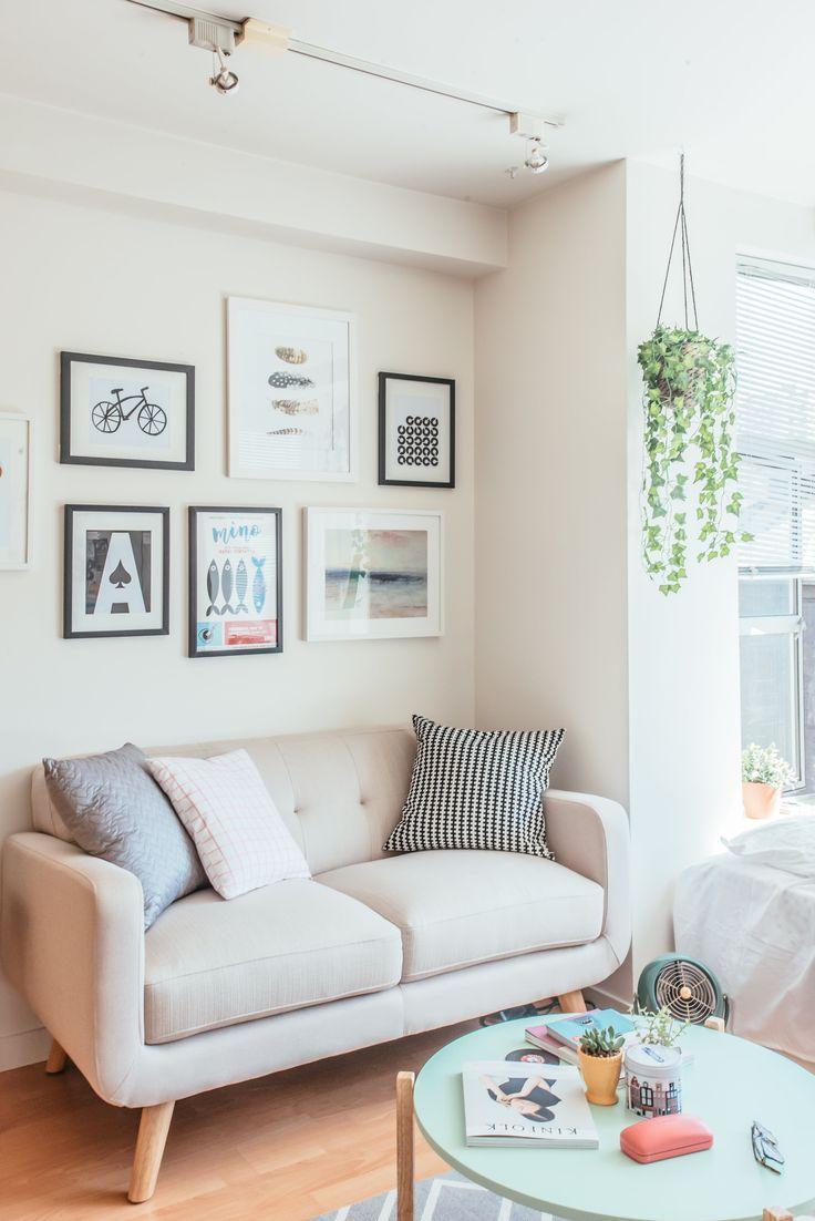 Tiny studio apartment tour