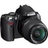 Nikon D40 SLR-Digitalkamera (6 Megapixel) schwarz inkl. AF-S DX 18-55 Objektiv