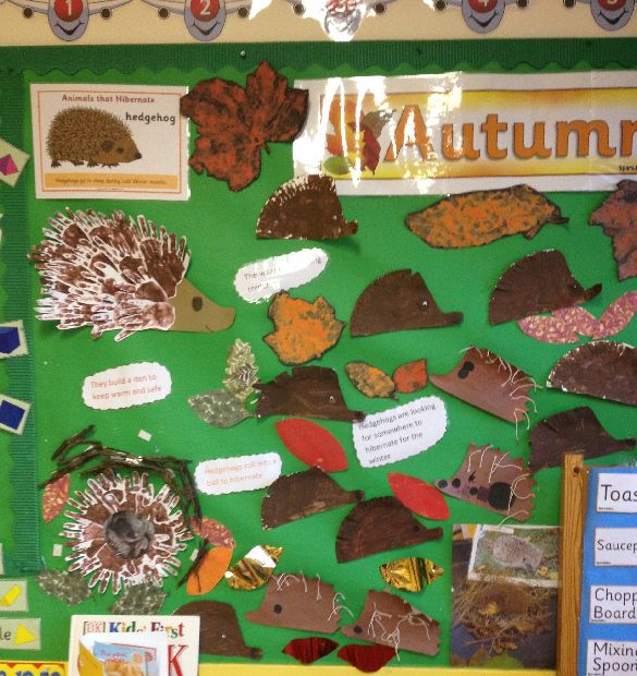 Autumn classroom display photo - Photo gallery - SparkleBox