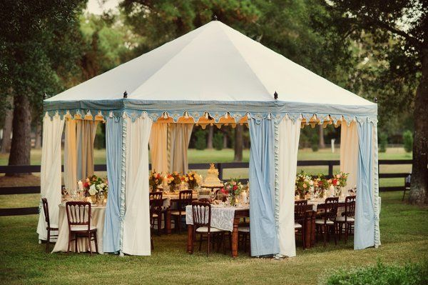 Real Backyard Wedding Wedding Reception Photos on WeddingWire