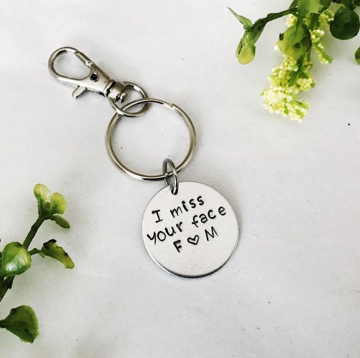 Long Distance Relationship Boyfriend Gift, Going Away Friend Gift, Long Distance Girlfriend Friendship Gift, No Matter Where Custom Keychain