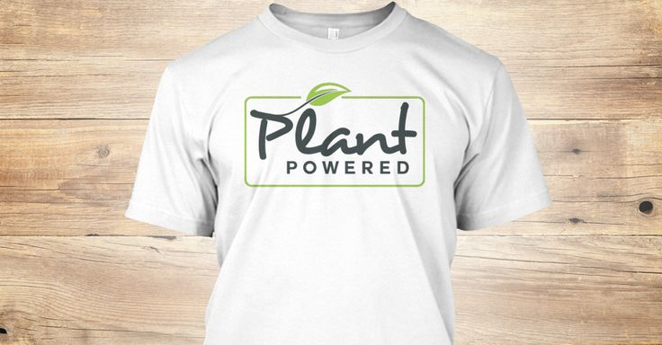 Discover Premium Vegan Plant Powered T-Shirt from Vegan shirts only on Teespring - Free Returns and 100% Guarantee - Spread the Vegan message by buying this...
