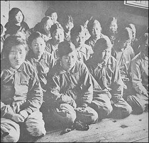 a report on the comfort women during japanese occupation Comfort women: japan filipino comfort women filed: april 2, 1993 on april 2, 1993, eighteen comfort women from the philippines filed a class action lawsuit with the tokyo district court to seek ¥360 million from the japanese government.