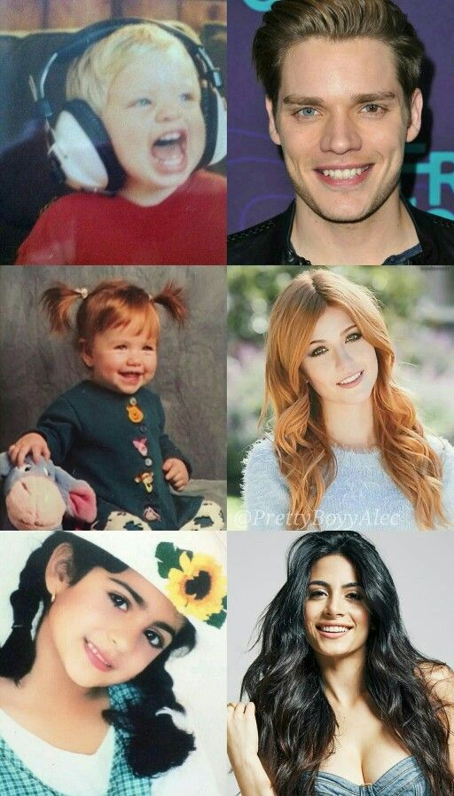 Shadowhunters cast - once and now. Excuse me while I squeal! So cuteeee!