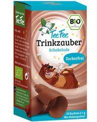 Mit der Süße des Bio-Steviablattes braucht der TeeFee Trinkzauber Schokolade w…