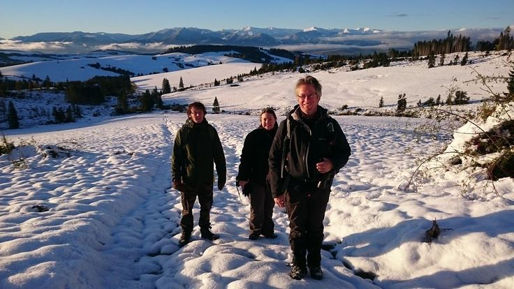 Trek through the snowy terrains in Slovakia this winter to track wolves for their further conservation in the area