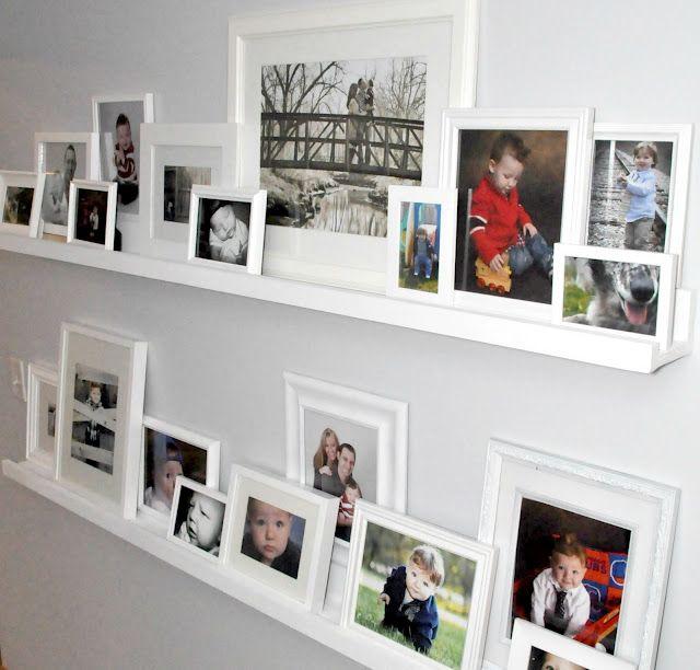 Photo Gallery Shelves