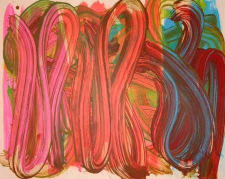 Judy Millar  Untitled, 2003  oil and acrylic on foamboard