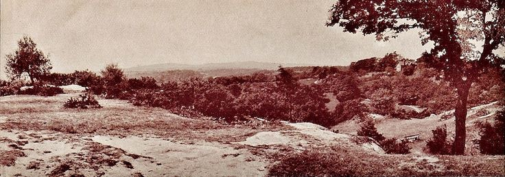 Happy Valley, Rusthall c1910.