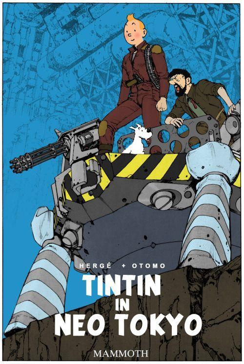 Les Aventures de Tintin - Album Imaginaire - Tintin in Neo Tokyo