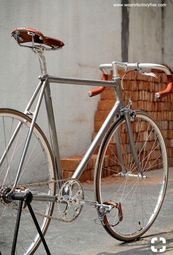 Clean Looking Fixie Fixie Bike Bicycle Steel Bike