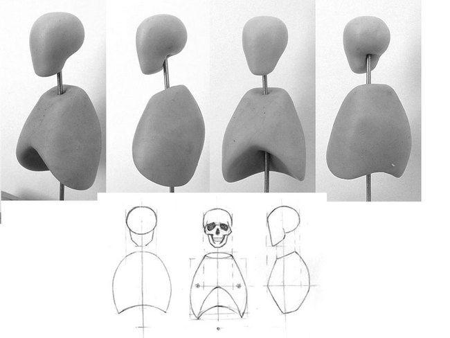 Анатомическая штудия *