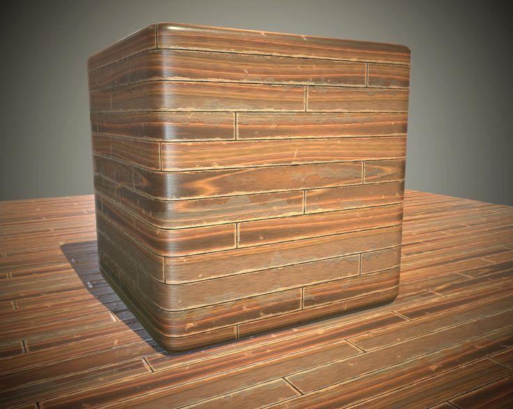 ArtStation - Procedural Wood Practice (Substance Designer), Julien Herpoel