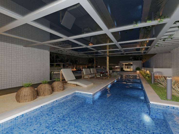 28 best piscina coberta images on pinterest indoor pools for Piscina coberta ontinyent