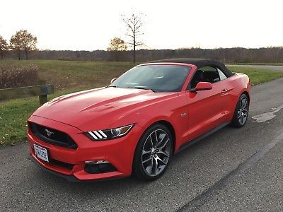 eBay: 2015 Ford Mustang Race Red Convertible 2015 Mustang GT Convertible #fordmustang #ford
