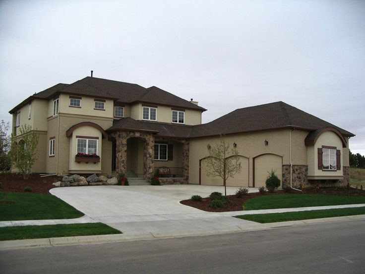 Lavrenti Italian Style Home Enchanting European Two-Story With Stone Front  Entry 2859 Total Square
