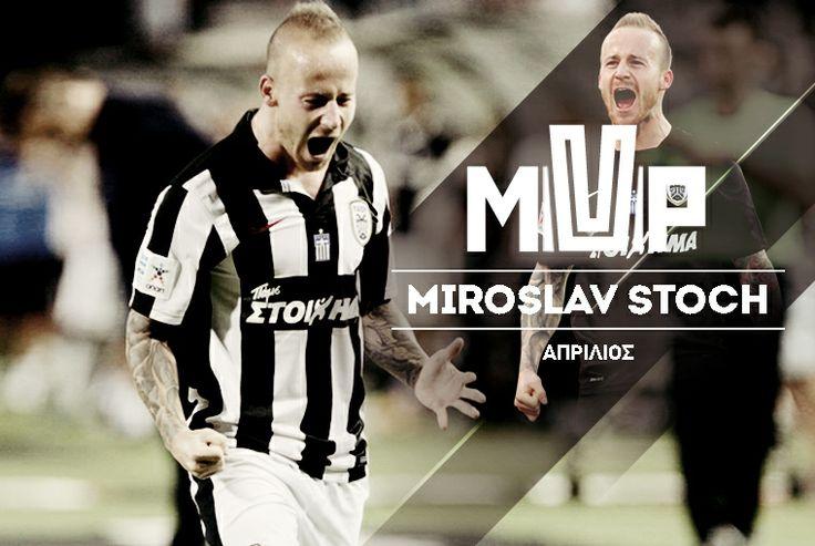 Καλύτερος παίκτης για τον Απρίλιο ο Μίροσλαβ Στοχ