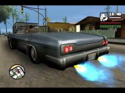 GTA San Andreas | All cars have Nitrous | Gta san andreas cheats