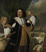 Bartholomeus van der Helst - Jonge ontsluierde vrouw heft een gordijn op - Bartholomeus van der Helst - Wikipedia