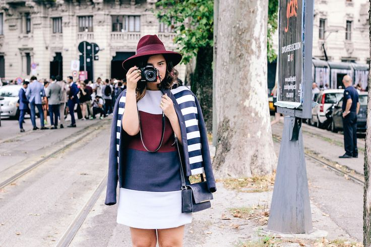 Street Style Details of Milan Fashion Week - Anja Tufina from The Dolls Factory blog