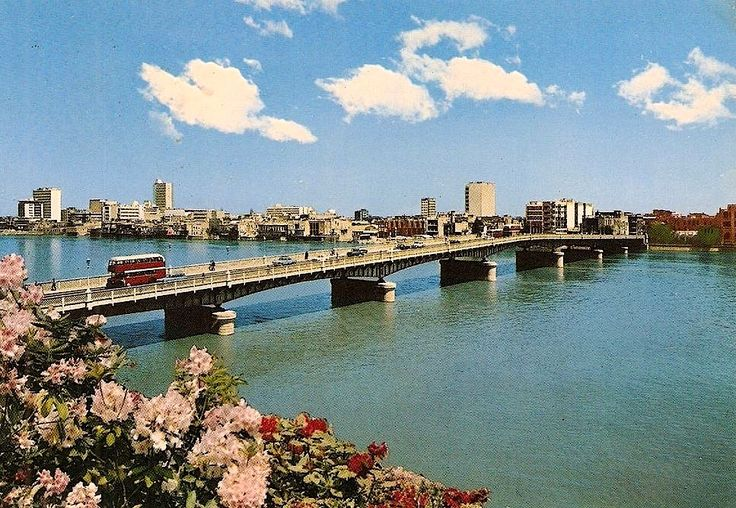 AlAhrar bridge, Baghdad, c1960sجسر الأحرار، بغداد