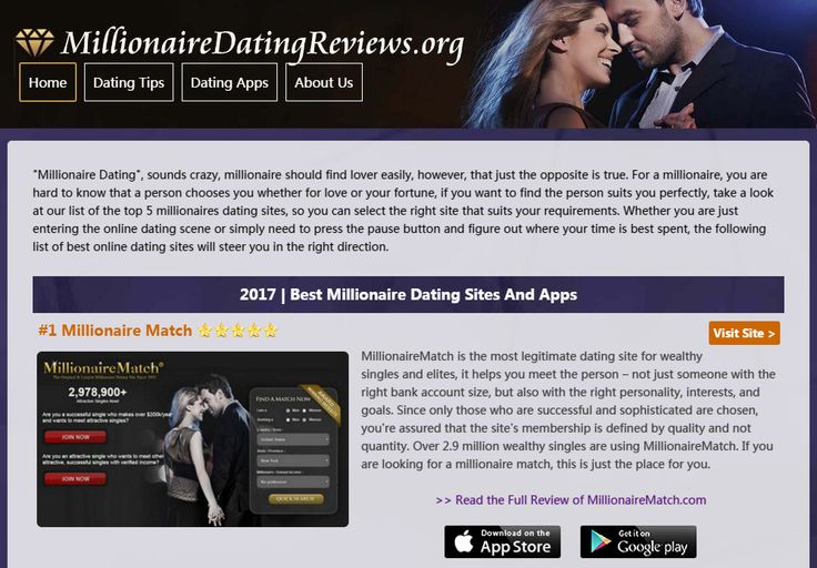 dating a millionaire advice 8 tips for cost-effective dating from the millionaire matchmaker  stanger,  however, has strict advice for magicians tempted to strut their stuff:.