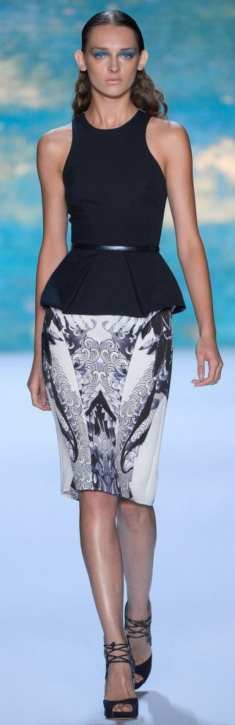 Monique Lhuillier Spring Summer 2013 Ready-To-Wear Collection ★ MORE of this collection on Runway Fashion