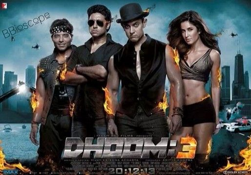 #BBCelebration 'Dhoom 3' earns Rs . 107.61 cr nett.  ALL TIME RECORD.