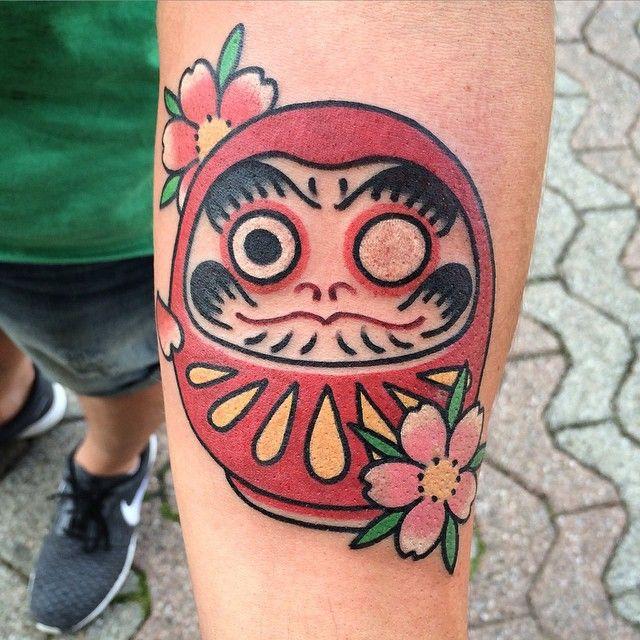 daruma tattoo traditional - Cerca con Google