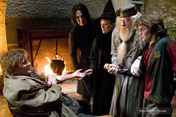 Harry Potter And The Goblet Of Fire Publicity Still Of David Tennant Alan Rickman Maggie Smith Mich Ganze Filme Feuerkelch Harry Potter Und Der Feuerkelch