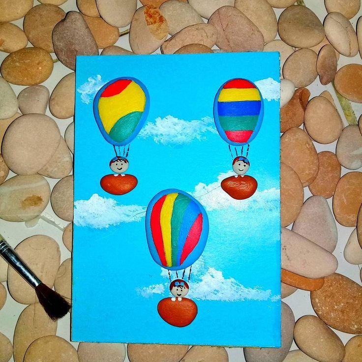 "4 Likes, 1 Comments - Rafa Pebble Art (@himawan_hijirosan) on Instagram: ""Pebble art : Flying without wings #art #artwork #pebbles #pebblebeach #handmade #handmadeart #child…"""