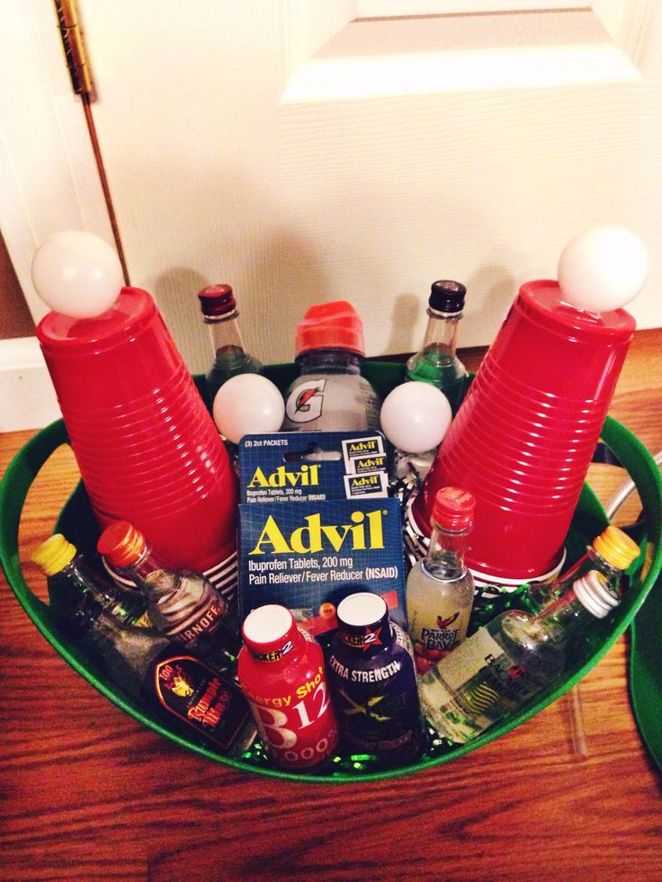 21st Birthday Hangover Gift Do It Yourself Guys 21st