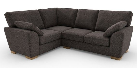 Buy Stamford Tailored Comfort Corner Sofa Left Hand 4 Seats Tweedy Blend Mid Charcoal Large Square Angle Light From The Next Uk O Sofa Next Sofa Stamford