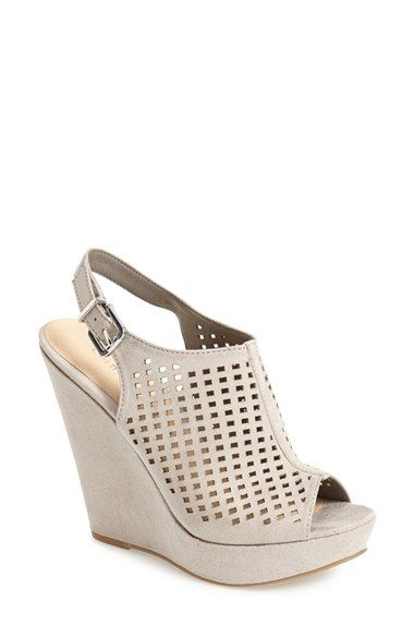 chinese laundry meet up wedge sandal