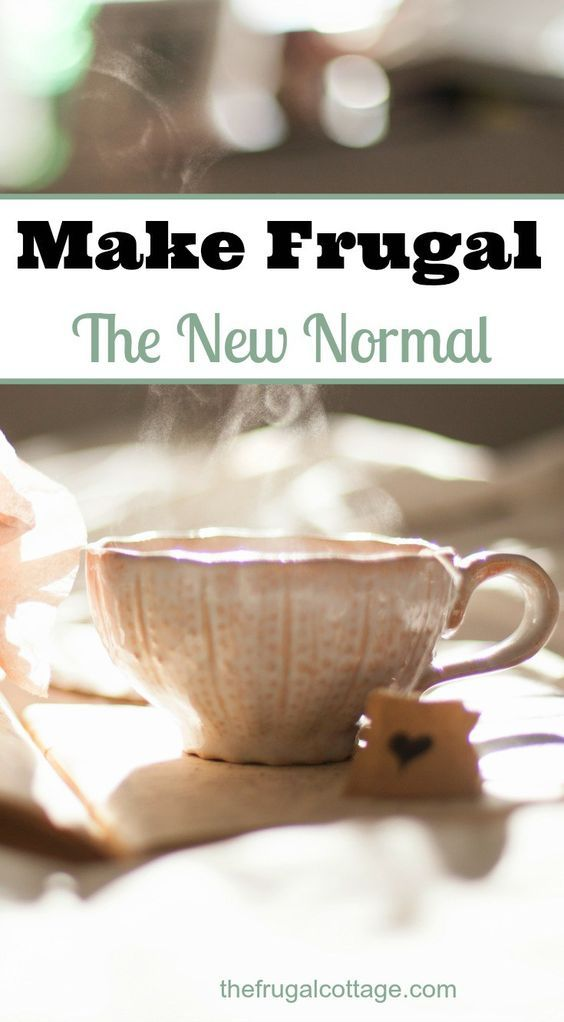 The easiest way to stick to your budget and start saving money? Make frugal your new normal!