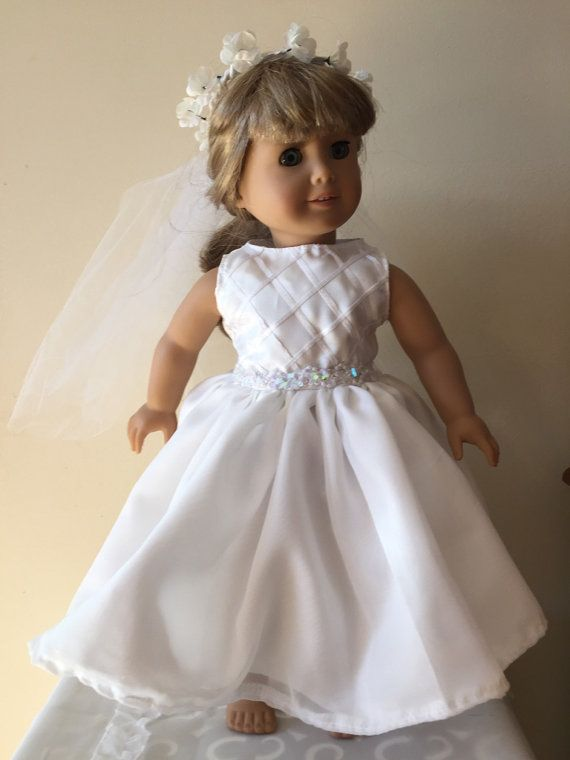 168 best images about american girl doll wedding on for American girl wedding dress