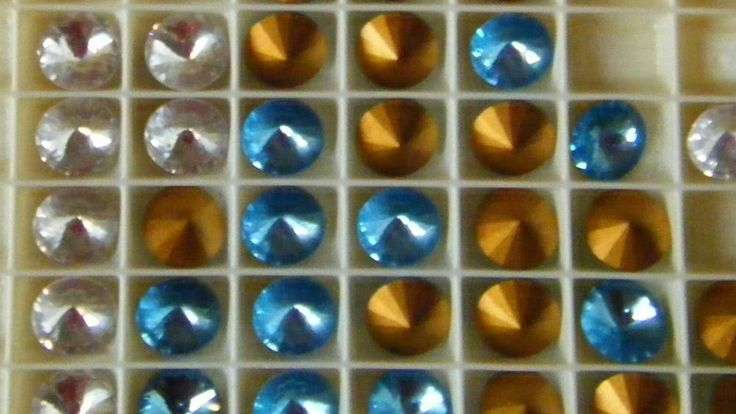 4 rivoli - art . 1122 12 mm. rivoli swarovski