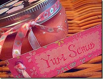 Hand Scrub - DIY- Click picture for tutorial